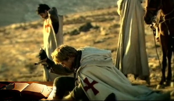 Bible Praying Templar