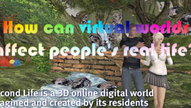 How can virtual worlds affect people's real life?